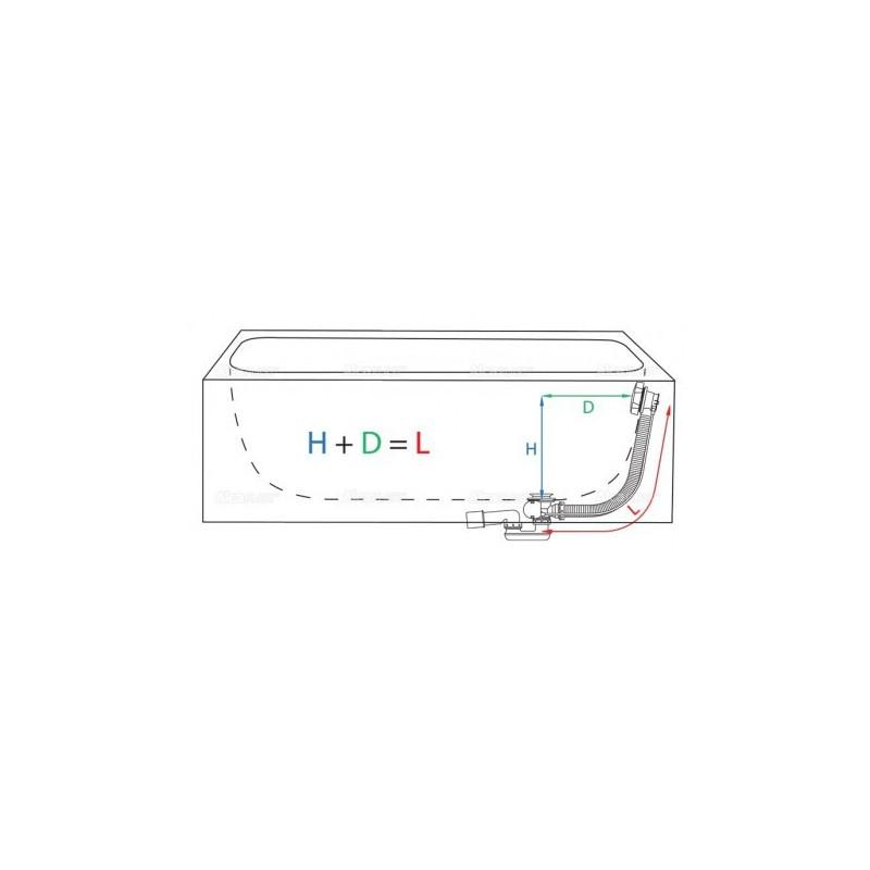 RIHO MIAMI 150 x 70 х 43 (170л) гидромассажная ванна