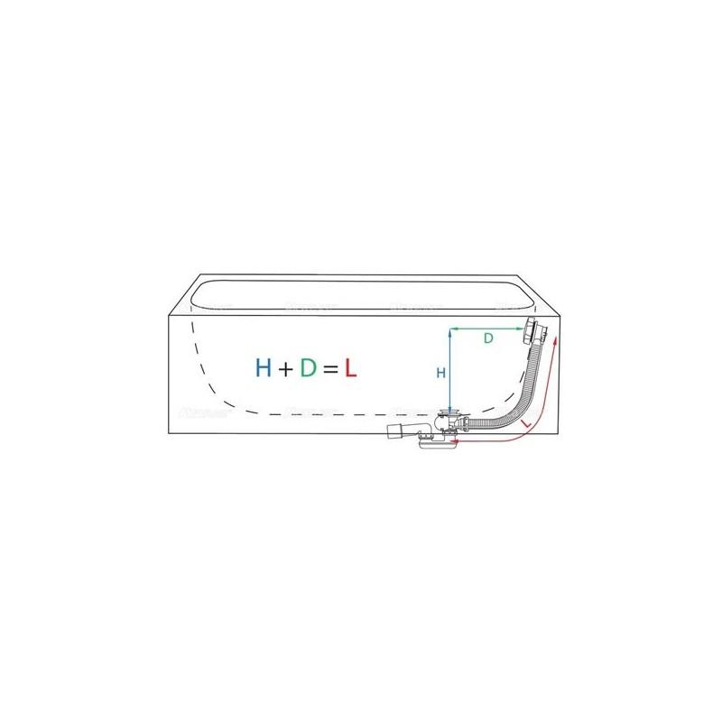 RIHO MODENA 190 x 90 х 52 (400л) гидромассажная ванна